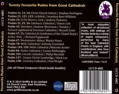 Favourite Psalms from Great Cathedrals