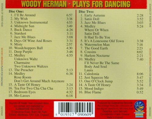 Plays for Dancing: Live from the Holiday Inn Chicago