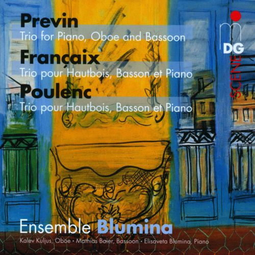 Françaix, Previn, Poulenc: Trios for Oboe, Bassoon and Piano