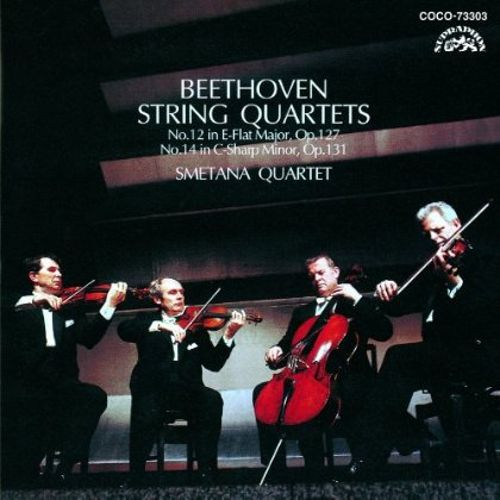 Beethoven: String Quartets No 12 in E-flat major Op. 127, No. 14 in C-sharp minor Op. 131