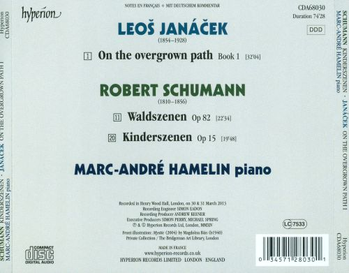 Schumann: Kinderszenen; Waldszenen; Janácek: On the Overgrown Path 1