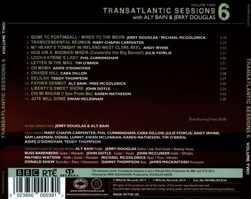 Transatlantic Sessions: Series 6, Vol. 2