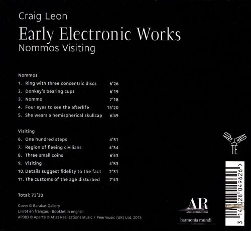 Craig Leon: Early Electronic Works - Nommos Visiting
