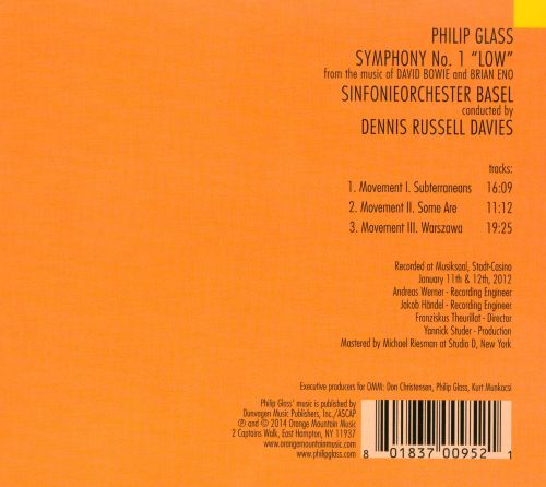 Philip Glass: Symphony No. 1