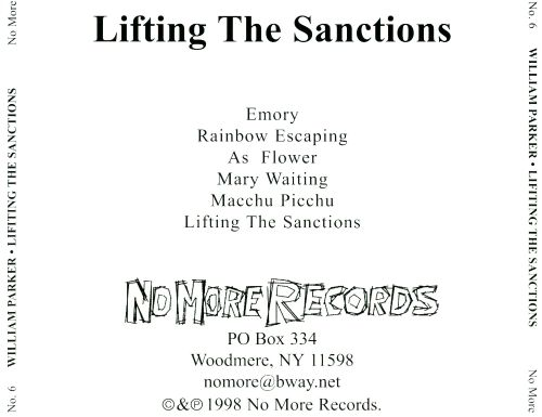Lifting the Sanctions