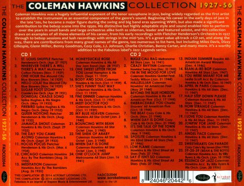 The Coleman Hawkins Collection 1927-1956
