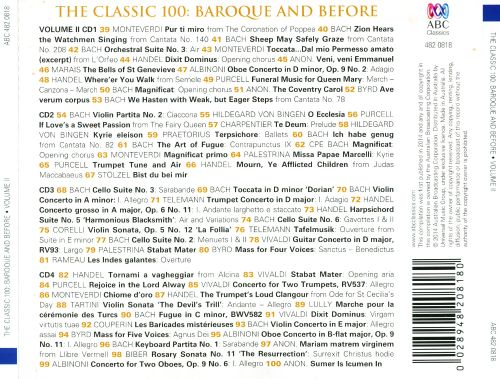 The Classic 100: Baroque & Before, Vol. 2