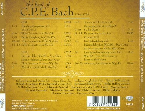 The Best of C.P.E. Bach