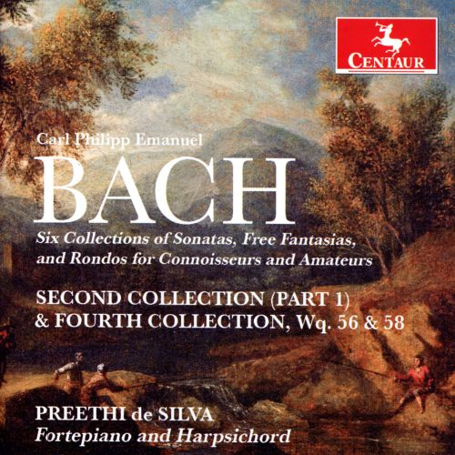 Carl Phillip Emanuel Bach: Second Collection (Part 1) & Fourth Collection, Wq. 56 & 58
