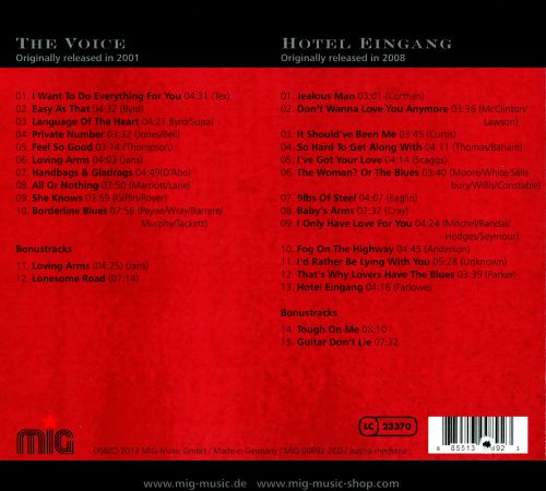The Voice/Hotel Eingang
