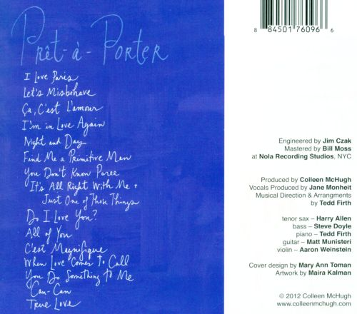 Pret-A-Porter: Cole Porter's French Connections