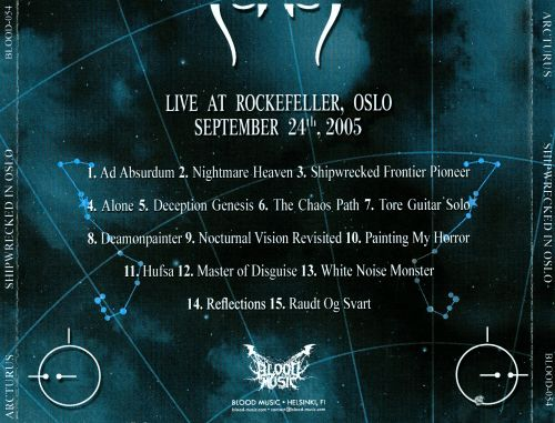Shipwrecked In Oslo: Live At Rockefeller 2005