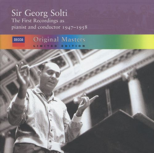 The First Recordings as pianist and conductor, 1947-1958