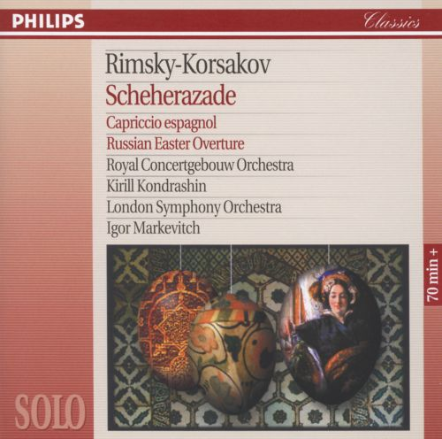 Scheherazade, symphonic suite for orchestra, Op. 35
