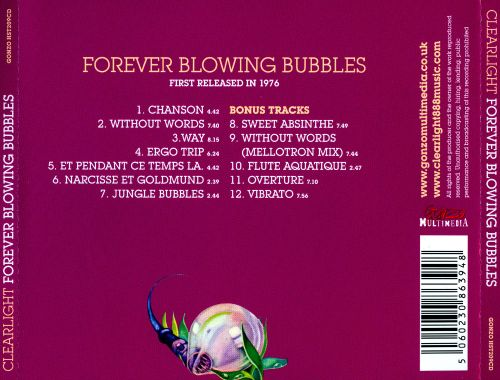 Forever Blowing Bubbles