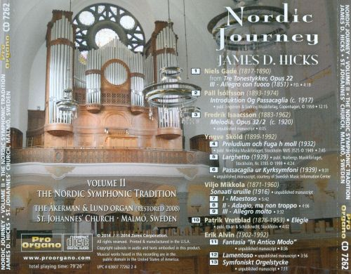 Nordic Journey, Volume 2: The Nordic Symphonic Tradition