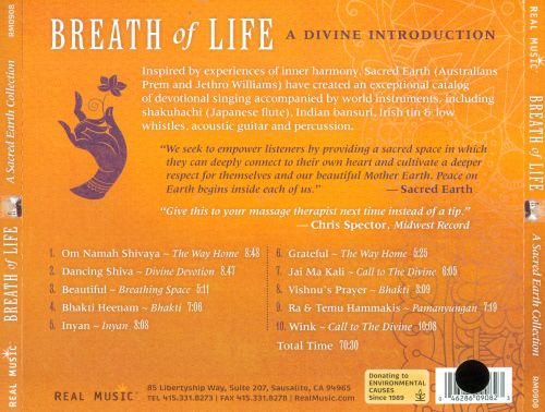 Breath of Life: A Sacred Earth Collection