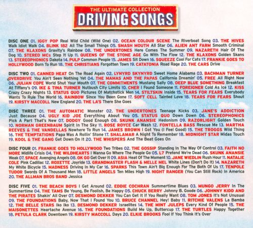 The  Ultimate Collection: Driving Songs