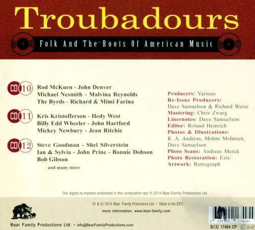 Troubadours: Folk and the Roots Of American Music, Pt. 4