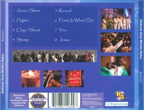 Shekinah Glory Ministry Redux: 10 Years of Praise & Worship Music