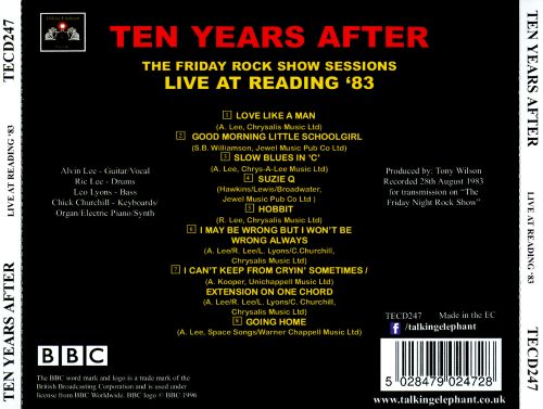 The Friday Rock Show Sessions: Live at Reading '83