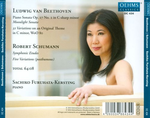 Sachiko Furuhata-Kersting plays Works for Solo Piano by Beethoven & Schumann
