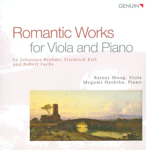 Romantic Works for Viola and Piano