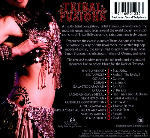 Tribal Fusions: Music For the Dark and Twisted