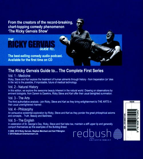 The Ricky Gervais Guide To...: The Complete First Series, Vols. 1-5