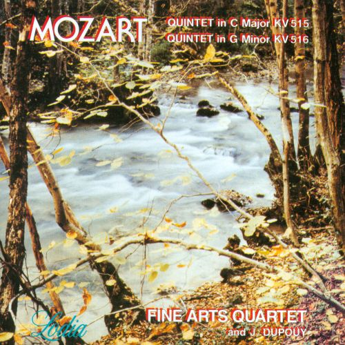 Mozart: Quintet in C Major KV 515; Quintet in G minor KV 516