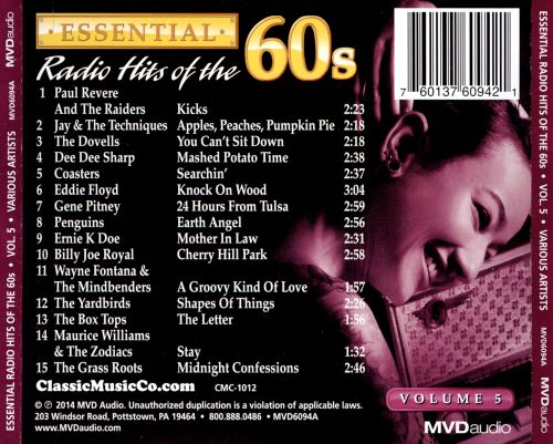 Essential Radio Hits of the 60s, Vol. 5