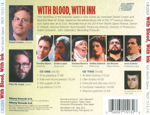 Daniel Crozier: With Blood, With Ink