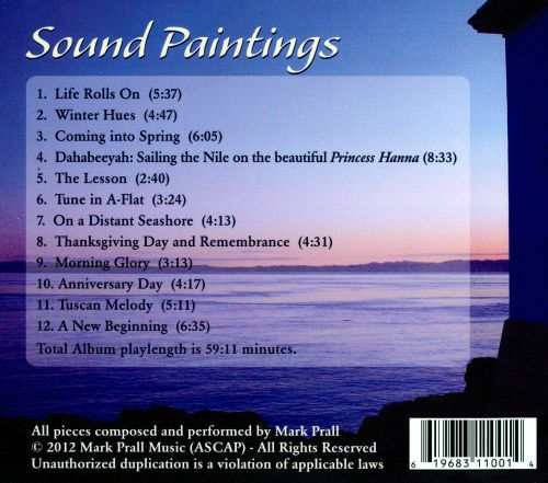 Sound Paintings: Music For the Background of Your Life