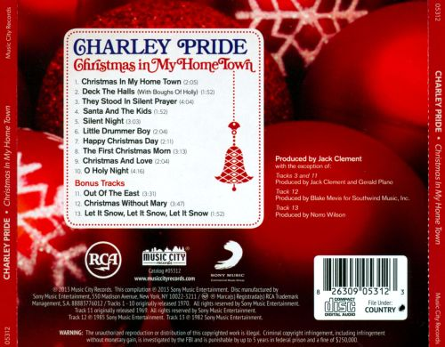 Christmas in My Home Town - Charley Pride   Songs, Reviews, Credits   AllMusic