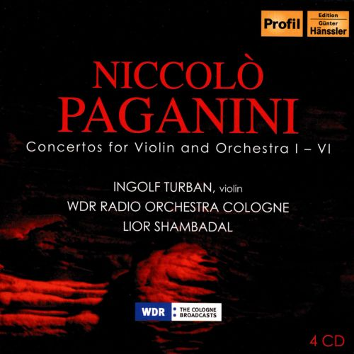 Paganini: Concertos for Violin and Orchestra 1-4