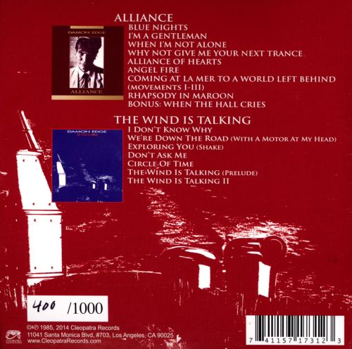 Alliance/The Wind Is Talking