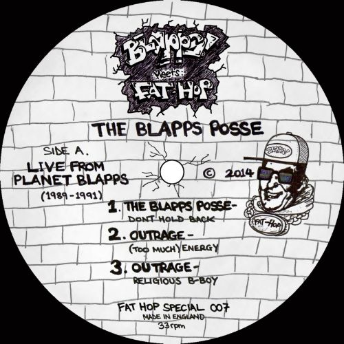 Live From Planet Blapps (1989-1991)
