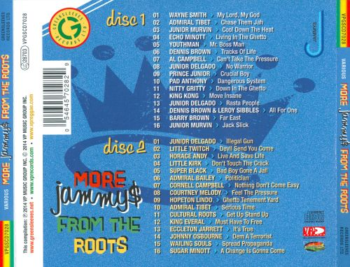 More Jammys From the Roots