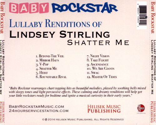 Lullaby Renditions of Lindsey Stirling: Shatter Me