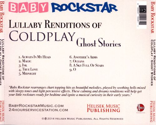 Baby Rockstar: Lullaby Renditions of Coldplay: Ghost Stories