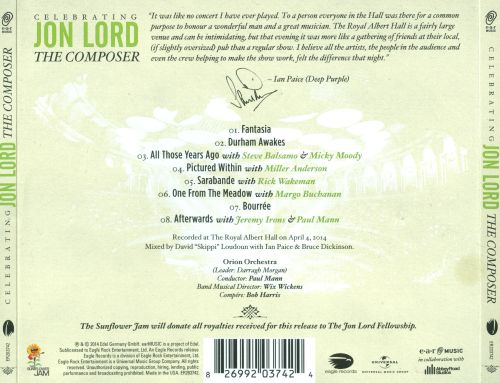 Celebrating Jon Lord: The Composer