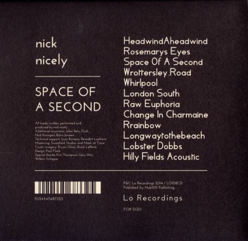 Space of a Second