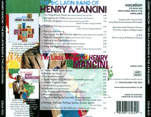 The Big Latin Band of Henry Mancini/The Latin Sound of Henry Mancini