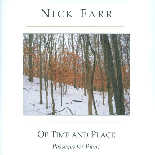 Of Time and Place: Passages for Piano