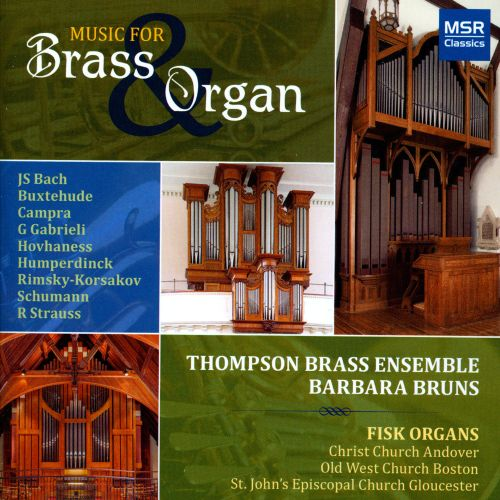 Music for Brass & Organ