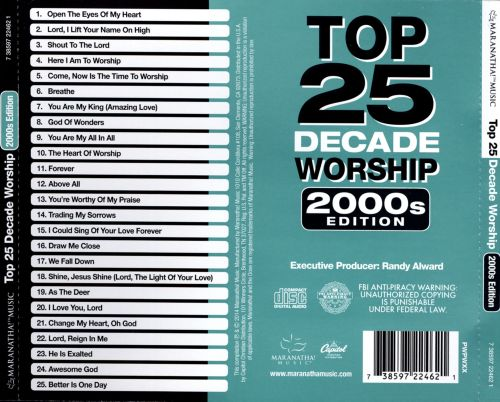 Top 25 Decade Worship: 2000's
