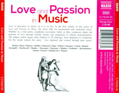 Love and Passion in Music