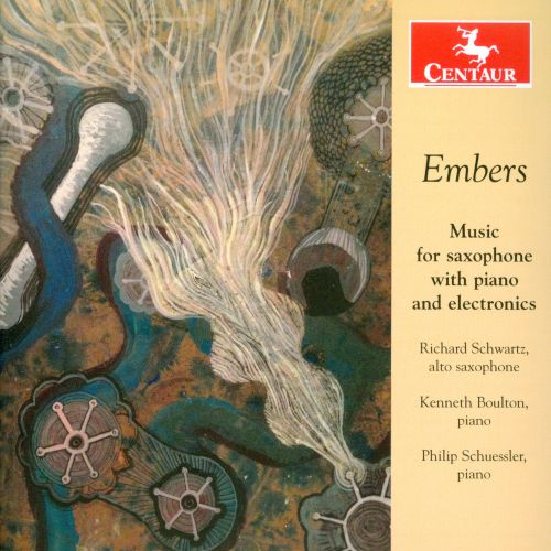 Embers: Music for saxophone with piano and electronics