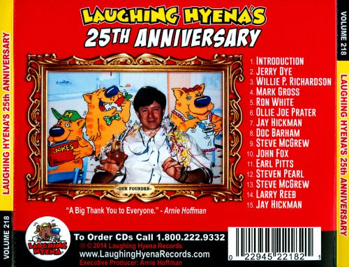 Laughing Hyena's 25th Anniversary