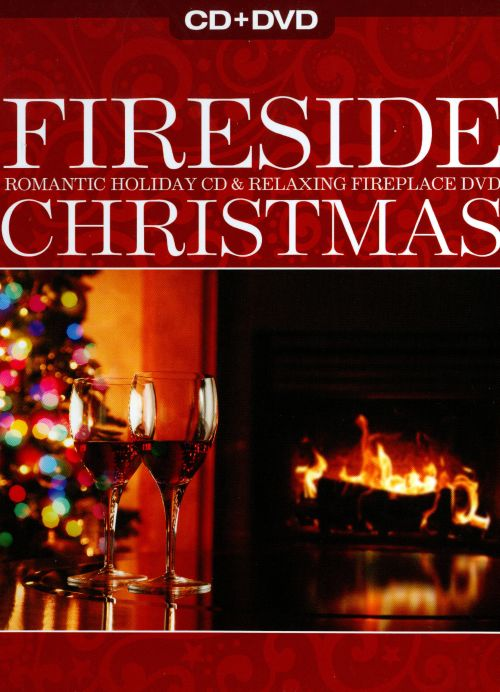 Fireside christmas romantic holiday cd relaxing fireplace dvd teraionfo